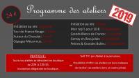 Programme des Ateliers de Dégustation 2019  de Terres & Bouchons à Bellengreville