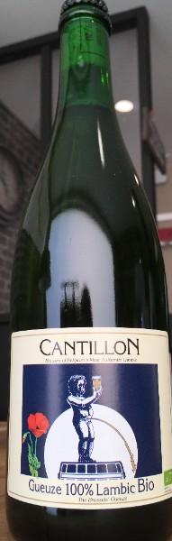 Gueuze de Cantillon 100% Lambic Bio  Bière Belge à Caen Bellengreville