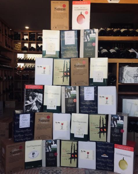 Cubi ou Fontaine à Vin, appelé Bag-in-box (Bib), une autre façon d'apprécier le vin