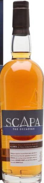 SCAPA The Orcadian, GLANSA l'autre distillerie des Iles Orcades
